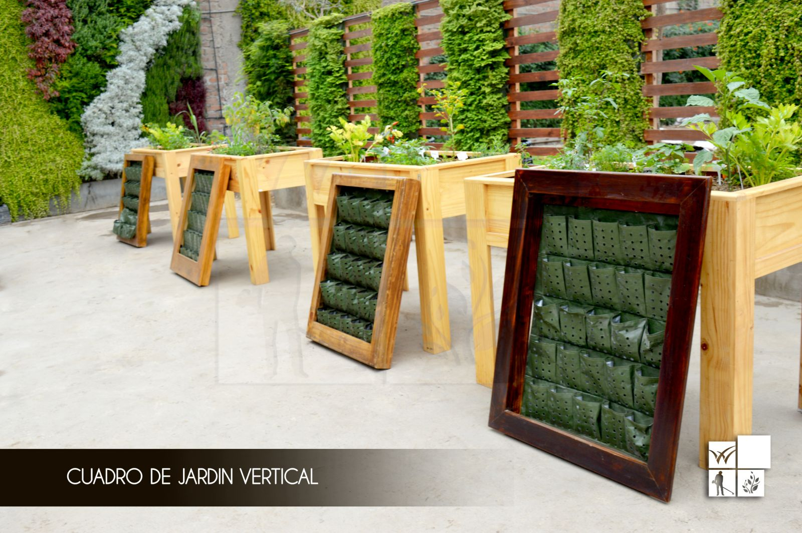 Material para jardin vertical finest awesome el jardn - Material para jardin ...